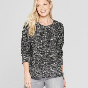 Knox Rose  Marble Long Sleeve Pullover Sweater